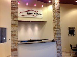 auto body chicago lobby