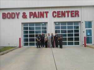 auto body repair portage front