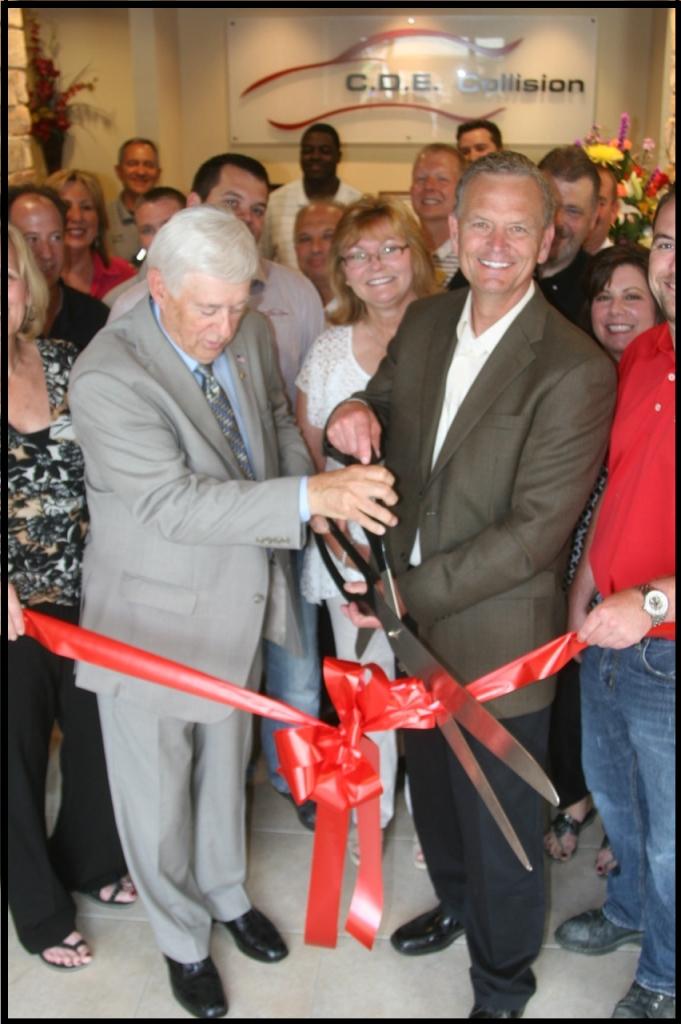 C.D.E. Celebrates Lansing's Grand Opening