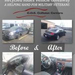 CDE Collision center donates recycled ride