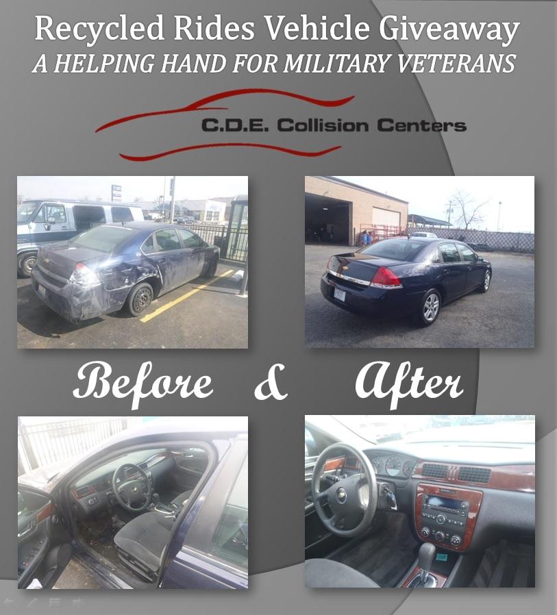 C.D.E. Donates a Car For Veteran's Day