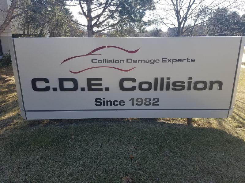 CDE Buffalo Grove sign