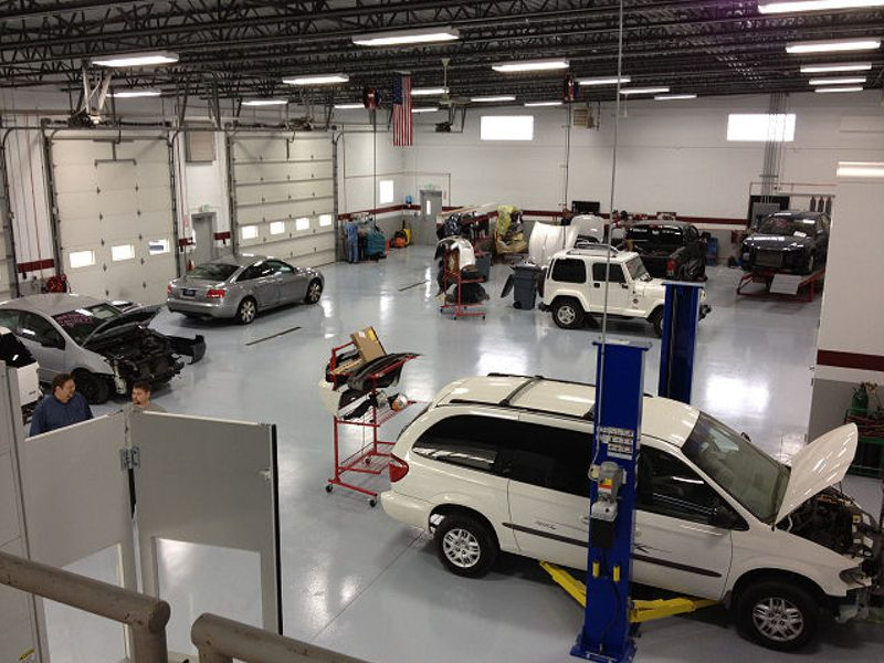 auto body repair crown point cde collision centers