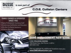 auto body repair des plaines card